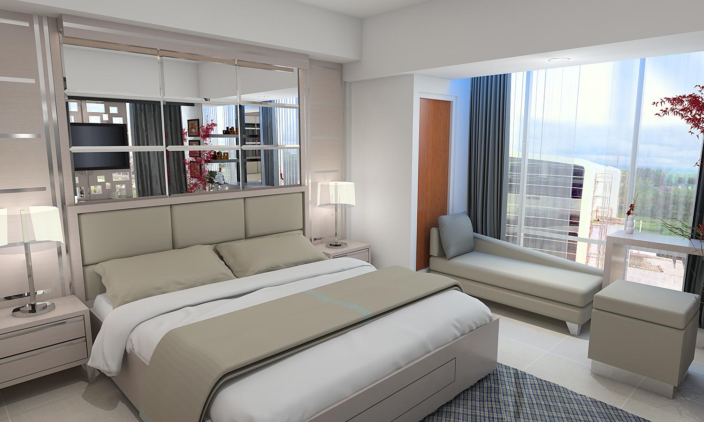 Free Download 3D Sketchup Desain Interior Apartement Jasa Interior